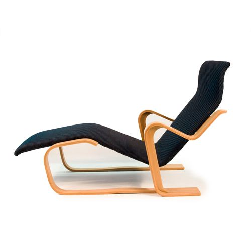 Chaise longue of marcel breuer design breuer for Chaise longue designer