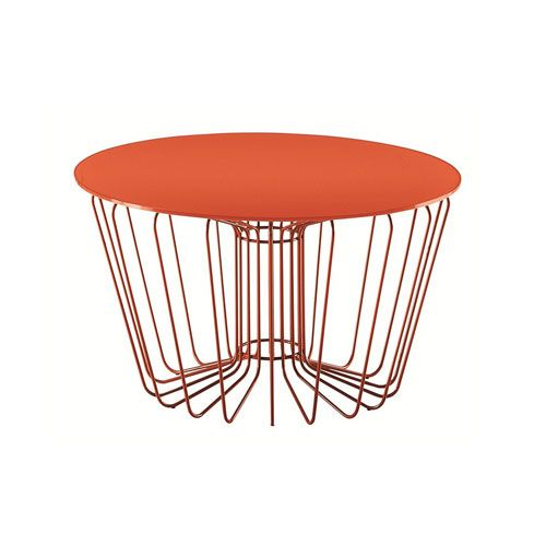 Wire table- design Arik Levy- Zanotta