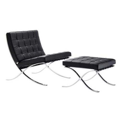 barcelona lounge chair design mies van der rohe. Black Bedroom Furniture Sets. Home Design Ideas