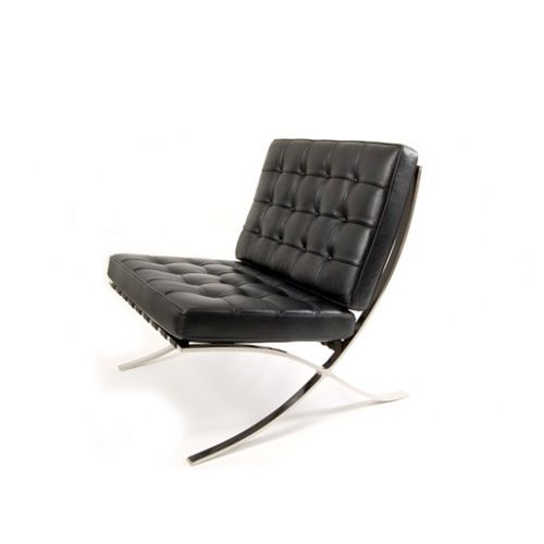 Barcelona lounge chair design mies van der rohe for Chaise longue barcelona outlet