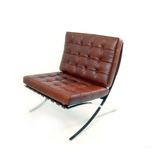 Barcelona lounge chair design mies van der rohe for Barcelona chaise lounge