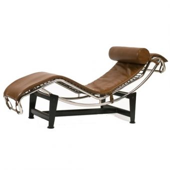 Corbusier chaise poitiers design for Chaise longue tours