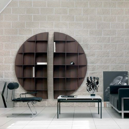 continental bookcase design joe colombo industrie carnovali. Black Bedroom Furniture Sets. Home Design Ideas