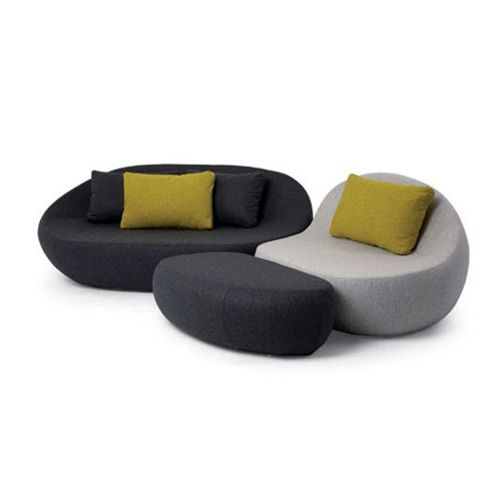 Flirtstones pouf design barbara golterman sphaus for Pouf design contemporain
