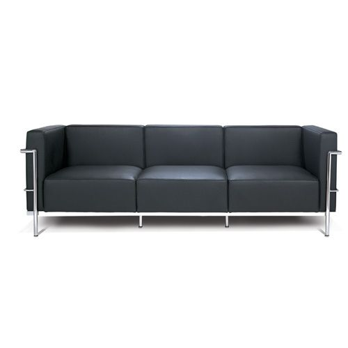 grand mod le lc3 sofa design le corbusier. Black Bedroom Furniture Sets. Home Design Ideas