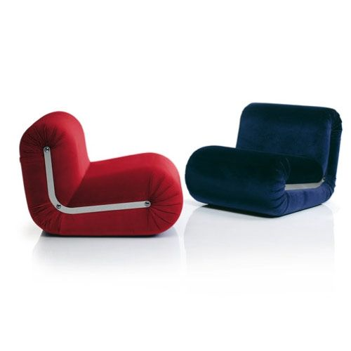 Boomerang lounge chair - design Rodolfo Bonetto - BLine